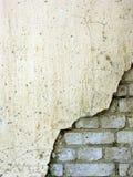 5块砖老墙壁 库存照片