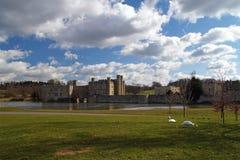 5城堡英国利兹 免版税库存图片