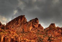 5处理的沙漠风暴 免版税库存照片