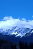 5多雪的山 免版税库存图片