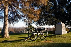 5大炮gettysburg 免版税库存图片