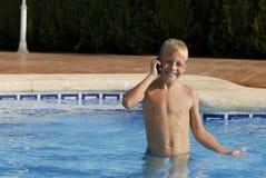 5家庭电话 图库摄影