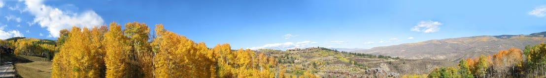 5座科罗拉多山 免版税库存图片