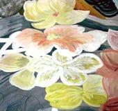 5抽象绘画 皇族释放例证