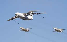 5支空军周年纪念俄语 免版税库存照片