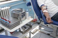 5新的献血 免版税库存图片