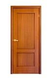 5木的门 免版税库存图片