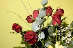 5朵花 库存图片