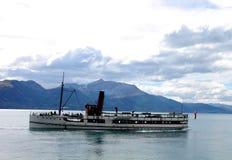 5条小船老蒸汽 图库摄影
