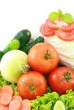 5棵蔬菜 免版税库存照片