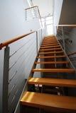 5楼梯 免版税图库摄影