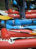 5次冒险用筏子运送 免版税库存图片