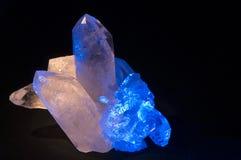5水晶 免版税库存照片