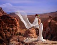 5浪漫的新娘 库存照片
