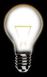 5电灯泡 库存图片