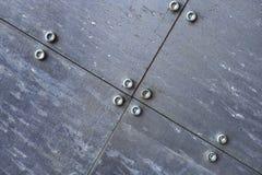 5种金属结构 免版税库存照片