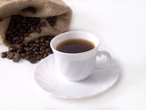 5粒豆coffe咖啡 库存照片