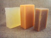 5自然肥皂 免版税图库摄影