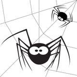 5蜘蛛 向量例证