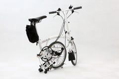 5辆自行车可折叠 库存图片
