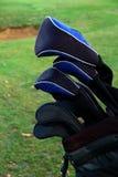 5高尔夫球 库存照片