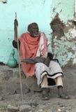 5 αιθιοπικοί άνθρωποι Στοκ εικόνα με δικαίωμα ελεύθερης χρήσης