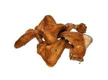 5 καπνισμένα κοτόπουλο φτ&eps Στοκ Εικόνες