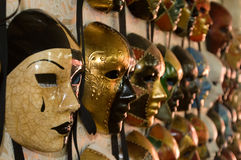 5 μάσκα Βενετία Στοκ Εικόνες