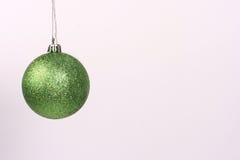5 πράσινες διακοσμήσεις Στοκ Εικόνα
