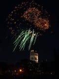 5 πυροτεχνήματα Στοκ Εικόνες