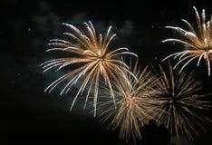 5 πυροτεχνήματα Στοκ Εικόνα