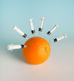 5 χοίροι προστασίας γρίπης Στοκ Φωτογραφία