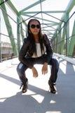 5 όμορφο κορίτσι Αϊτινός υπ&alpha Στοκ Εικόνες