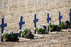 5 ветеранов дня Стоковое Изображение