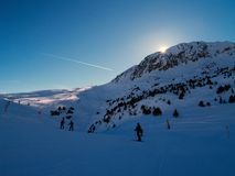 5 гор Стоковое фото RF