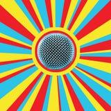 5 диско mic бесплатная иллюстрация