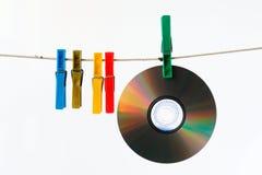 5 компактных дисков Стоковое Изображение
