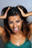 5 красивейшее headshot latina Стоковые Фотографии RF
