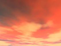 5 облаков предпосылки Стоковое Изображение RF