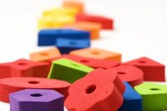 5 пестротканых игрушек Стоковая Фотография