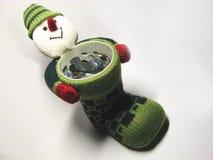 5 подарков укомплектовывают личным составом снежок Стоковые Изображения