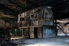 5 покинутая фабрика Стоковые Фотографии RF