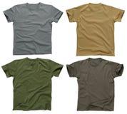 5 пустых рубашек t Стоковые Изображения RF