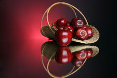 5 серий яблок стоковые изображения rf