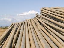 5 труб металла Стоковое Фото