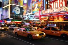 5-ый город New York бульвара Стоковые Изображения RF
