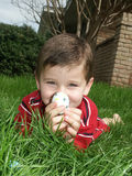 5 яичек мальчика Стоковые Фотографии RF