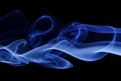 5蓝色烟 库存图片