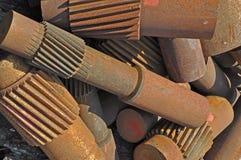 5大量金属废料 免版税库存图片
