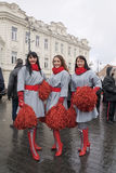 5 2011 marscherar vilnius Arkivbild